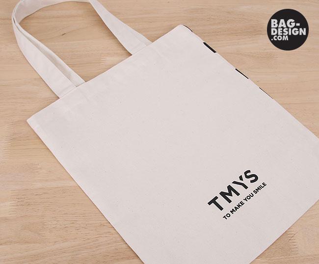 ผลงาน รับทำ รับผลิต กระเป๋าผ้า ถุงผ้า ให้กับบริษัท TMYS
