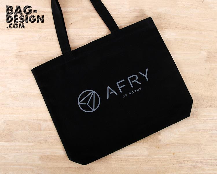 รับทำ รับผลิต กระเป๋าผ้า ถุงผ้า ให้กับ Poyry Energy Ltd.