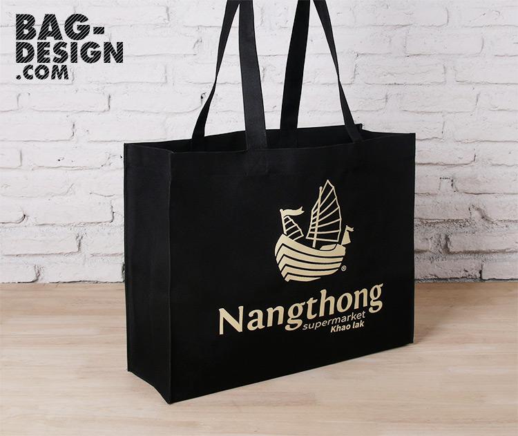 รับทำ รับผลิต กระเป๋าผ้า ถุงผ้า ให้กับ บริษัท นางทองกรุ๊ป จำกัด