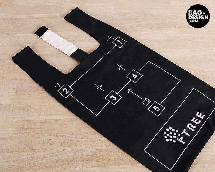 รับทำ รับผลิต กระเป๋าผ้า ถุงผ้า ให้กับ บริษัท ไอ-ทรี อินโนเวทีฟ เซอร์วิสเซส จำกัด