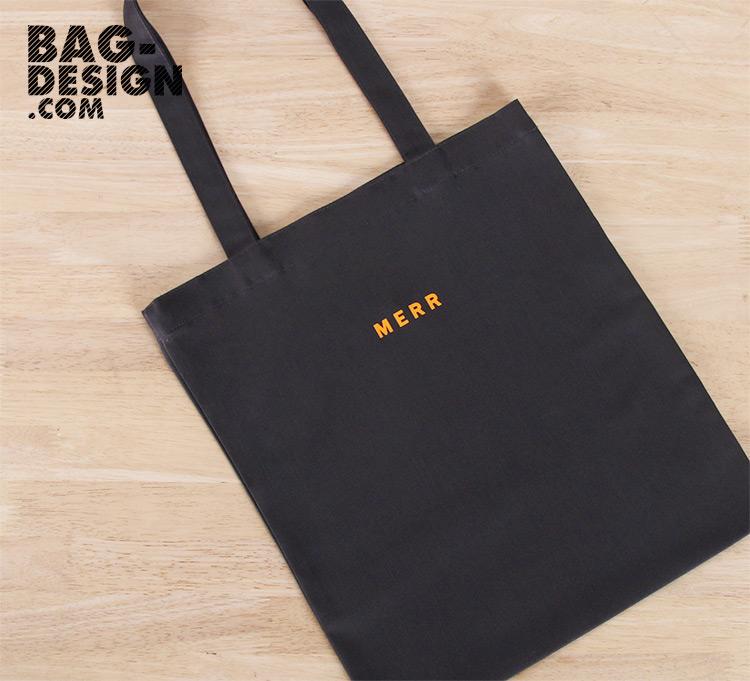 รับทำ รับผลิต กระเป๋าผ้า ถุงผ้า ให้กับ บริษัท เมอร์ คอร์ปอเรชั่น จำกัด