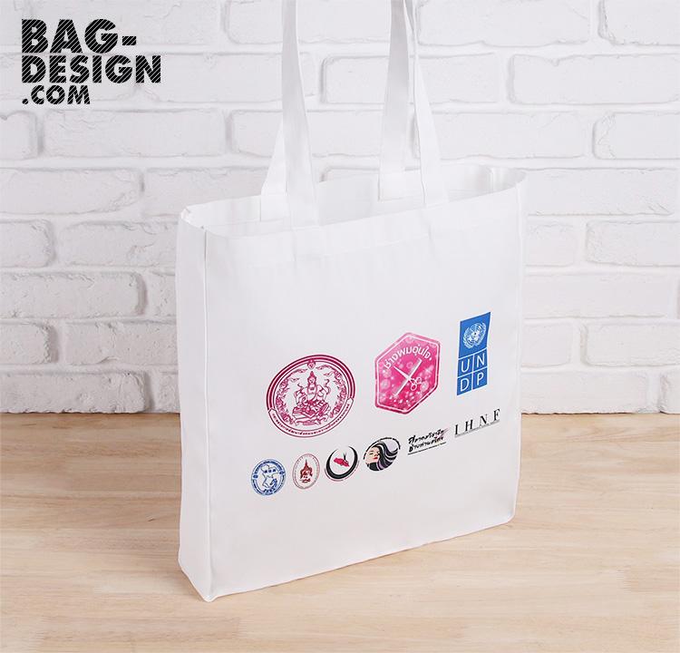 รับทำ รับผลิต กระเป๋าผ้า ถุงผ้า ให้กับ United Nations Development Programme