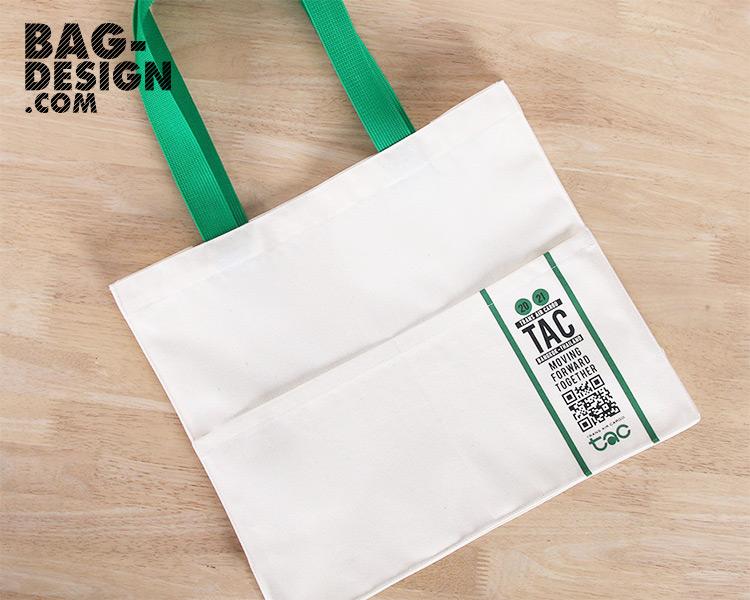รับทำ รับผลิต กระเป๋าผ้า ถุงผ้า ให้กับ บริษัท ทรานส์ แอร์ คาร์โก จำกัด