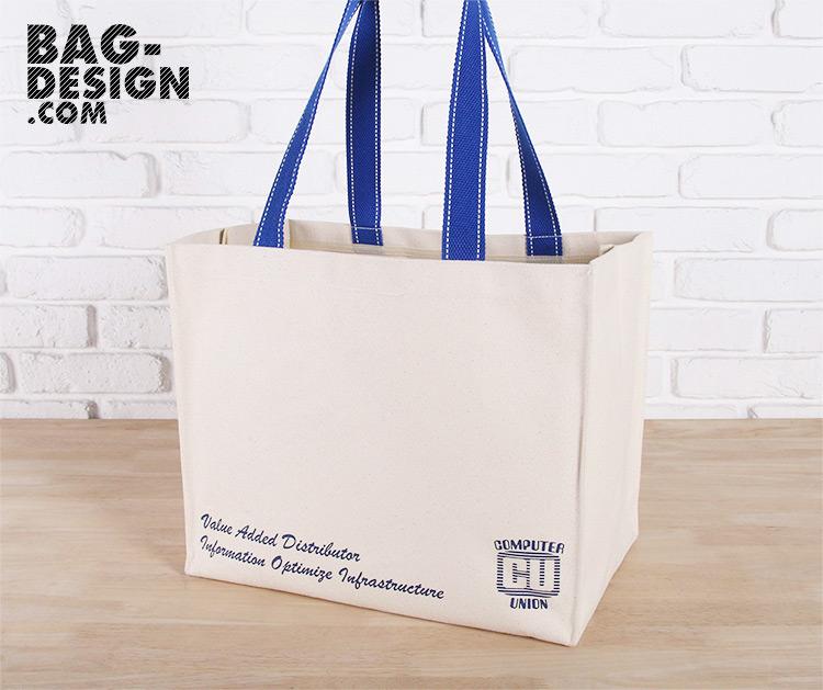 รับทำ รับผลิต กระเป๋าผ้า ถุงผ้า ให้กับ Computer Union Co.,Ltd.