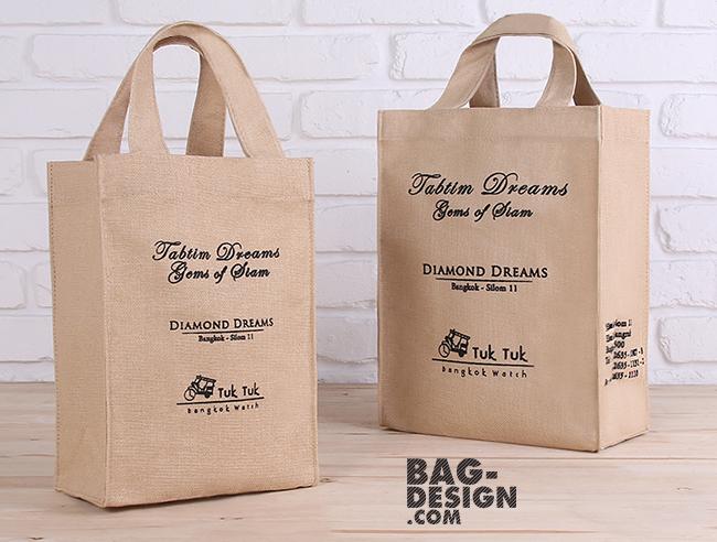 รับทำ รับผลิต กระเป๋าผ้า ถุงผ้า ให้กับ บริษัท บางกอกวอทช์ แอนด์ จิวเวลรี่ จำกัด